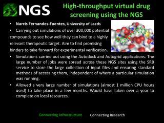 High-throughput virtual drug screening using the NGS