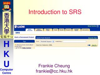 Introduction to SRS
