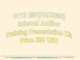 EQHSMS Internal Auditor Training