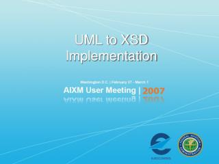 UML to XSD Implementation