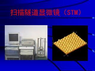 扫描隧道显微镜( STM )