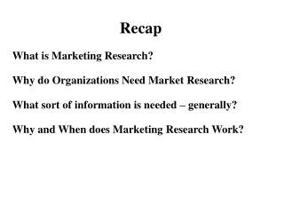 What is Marketing Research? Why do Organizations Need Market Research?