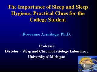 Sleep &  Chronophysiology  Laboratory