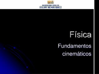 Fundamentos  cinemáticos