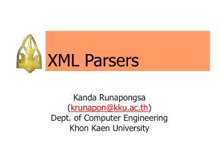 XML Parsers