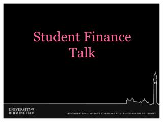 Student Finance Talk