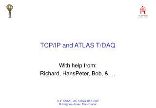 TCP/IP and ATLAS T/DAQ