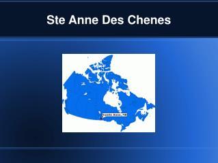 Ste Anne Des Chenes