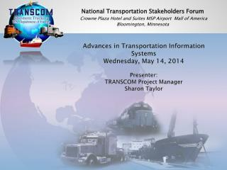 National Transportation Stakeholders Forum