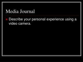 Media Journal