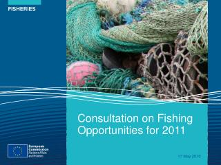 Consultation on Fishing Opportunities for 2011
