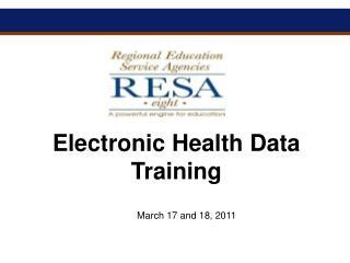 Electronic Health Data Training