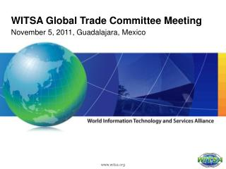 WITSA Global Trade Committee Meeting