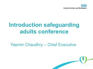 Introduction safeguarding adults conference