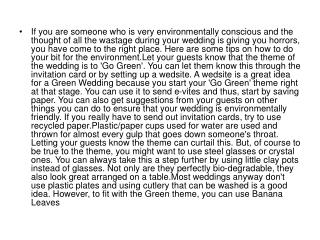 If you are someone who is very environmentally conscious