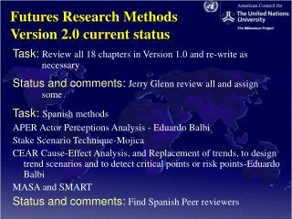 Futures Research Methods  Version 2.0 current status
