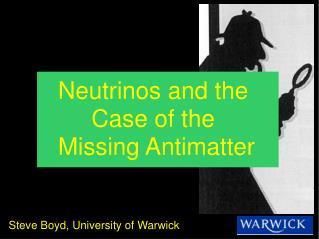 Steve Boyd, University of Warwick