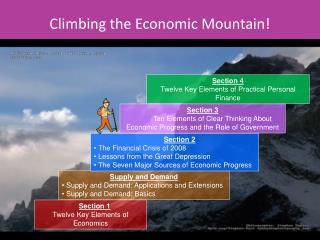 Climbing the Economic Mountain!