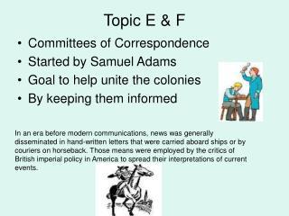 Topic E & F