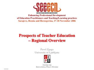 Enhancing Professional Development of Education Practitioners and Teaching/Learning practices