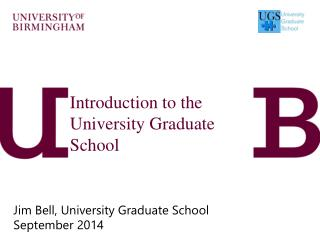 Introduction to the University Graduate School