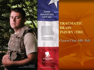 Blast is the signature weapon and TBI is the signature injury of the conflicts in Iraq and Afghanistan.Lieutenant Genera