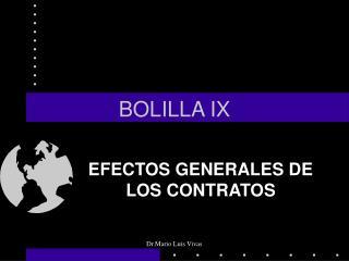 BOLILLA IX