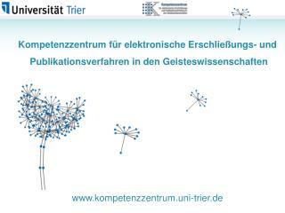 Kompetenzzentrum für elektronische Erschließungs- und