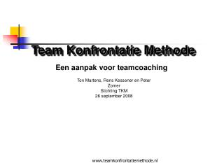 Team Konfrontatie Methode