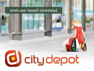 Logistiek servicepunt Hasselt.
