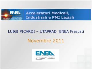 Acceleratori Medicali, Industriali e PMI Laziali