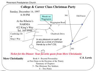College & Career Class Christmas Party