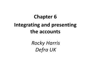 Rocky Harris Defra UK
