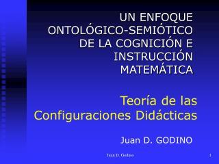 Teoría de las  Configuraciones Didácticas