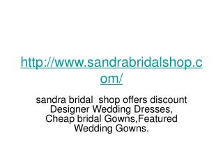 How to choose cheap wedding dress