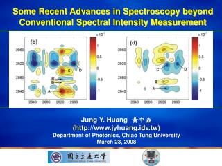 Some Recent Advances in Spectroscopy beyond Conventional Spectral Intensity Measurement