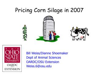 Pricing Corn Silage in 2007