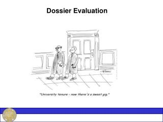 Dossier Evaluation