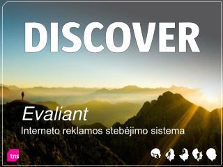 Evaliant  Interneto reklamos stebėjimo sistema