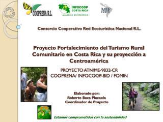 PROYECTO ATN/ME-9832-CR  COOPRENA/ INFOCOOP-BID / FOMIN