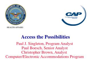 Access the Possibilities