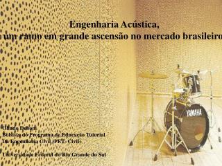 Engenharia Acústica,  um ramo em grande ascensão no mercado brasileiro