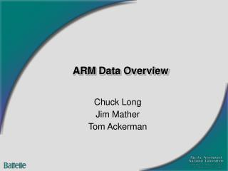 ARM Data Overview