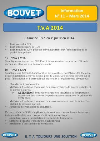 T.V.A 2014