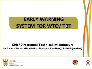 EARLY WARNING SYSTEM FOR WTO/ TBT