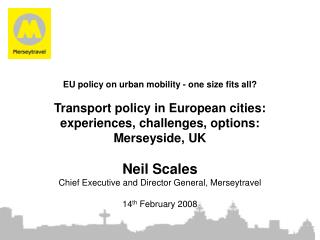 The context:  Merseyside and Merseytravel