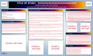 TITLE OF STUDY   XXXXXXXXXXXXXXXXXXXXXXXXX PEOPLE WHO DID THE STUDY