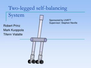 Two-legged self-balancing System