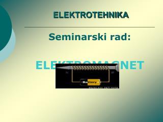 ELEKTROTEHNIKA