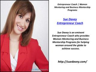 Sue Davey Success Mentor for Women